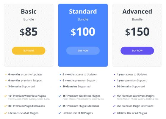 10web analytics pricing