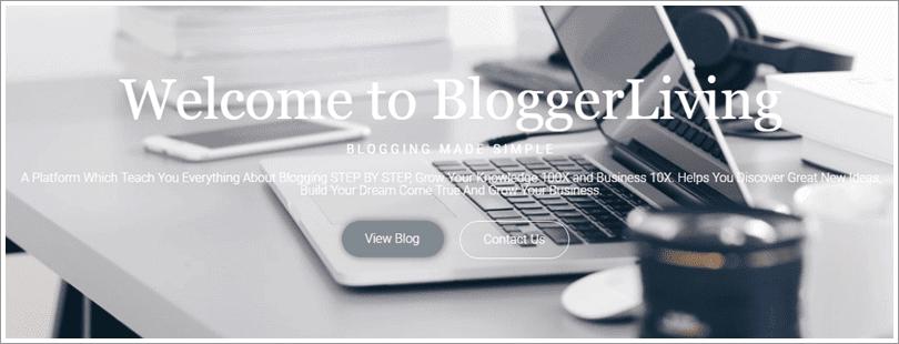 blogger living