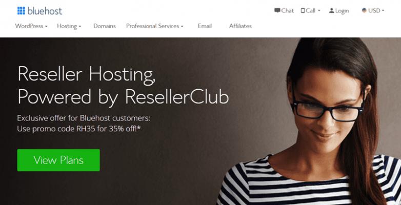 bluehost reseller hosting