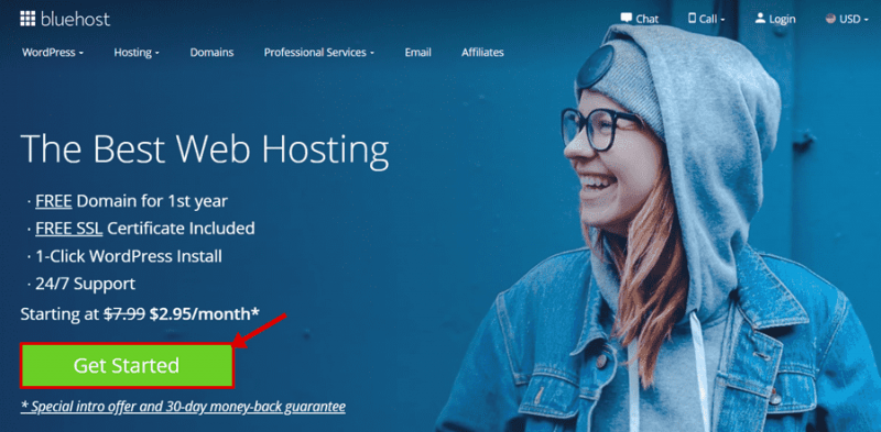 buy hosting from bluehost