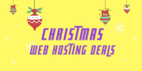 10 Best Christmas Web Hosting Deals 2021 → 95% OFF SALE & Discount Offers