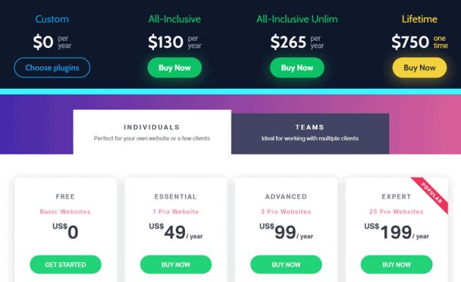 crocoblock vs elementor pro pricing