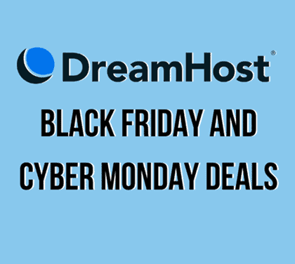 dreamhost cyber monday