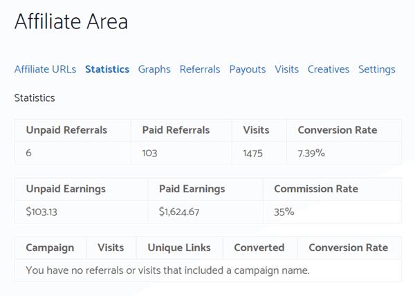 generatepress affiliate earnings