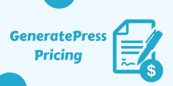 GeneratePress Pricing – GP Premium Regular Cost & Renewal Charges Guide