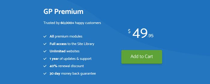 generatepress pricing