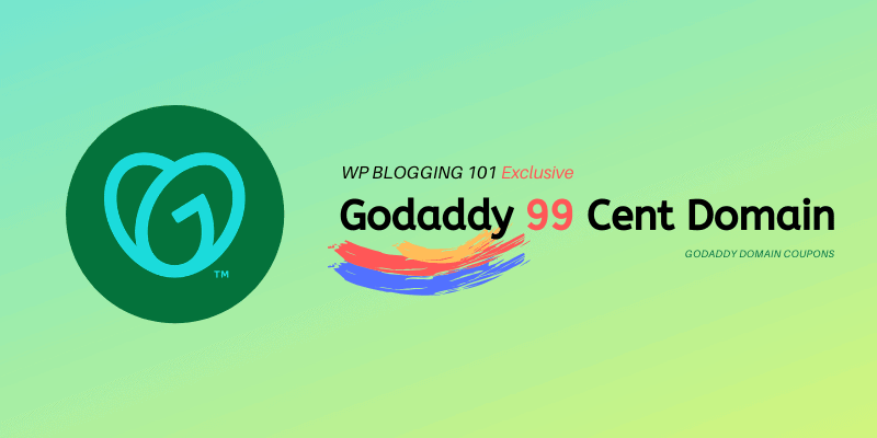 godaddy 99 cent domain