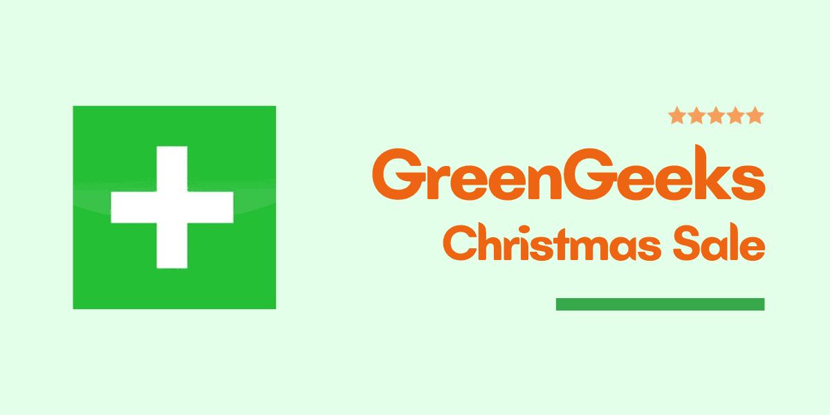 greengeeks christmas sale