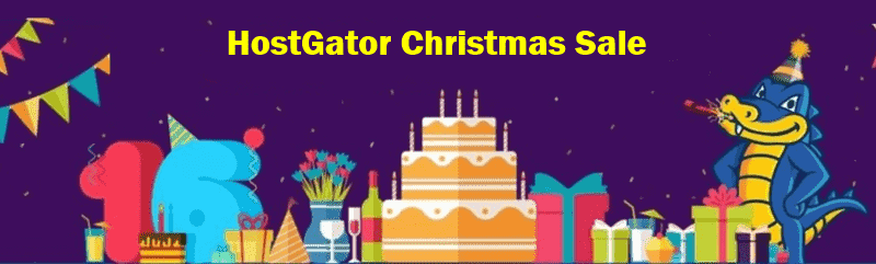 hostgator christmas sale