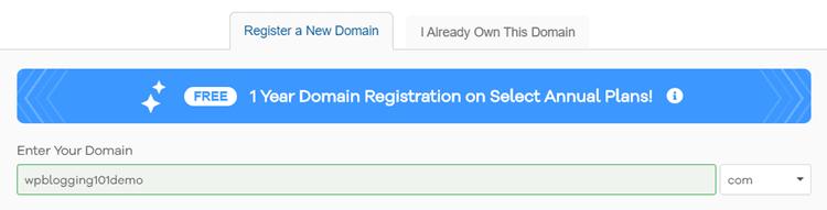 hostgator domain
