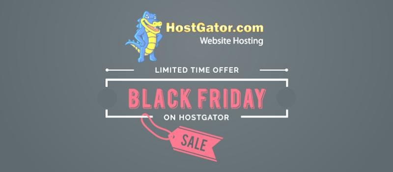 hostgator india black friday