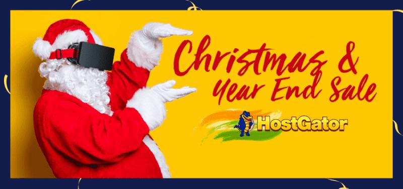 hostgator india christmas sale