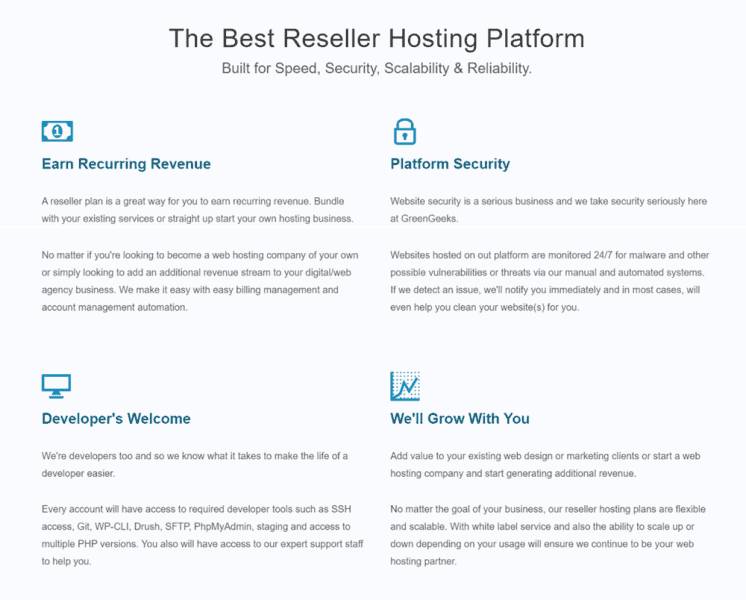 hostgator reseller hosting alternative greengeeks