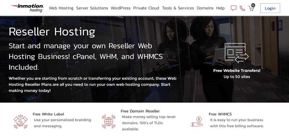 hostgator reseller hosting alternative inmothinh hosting