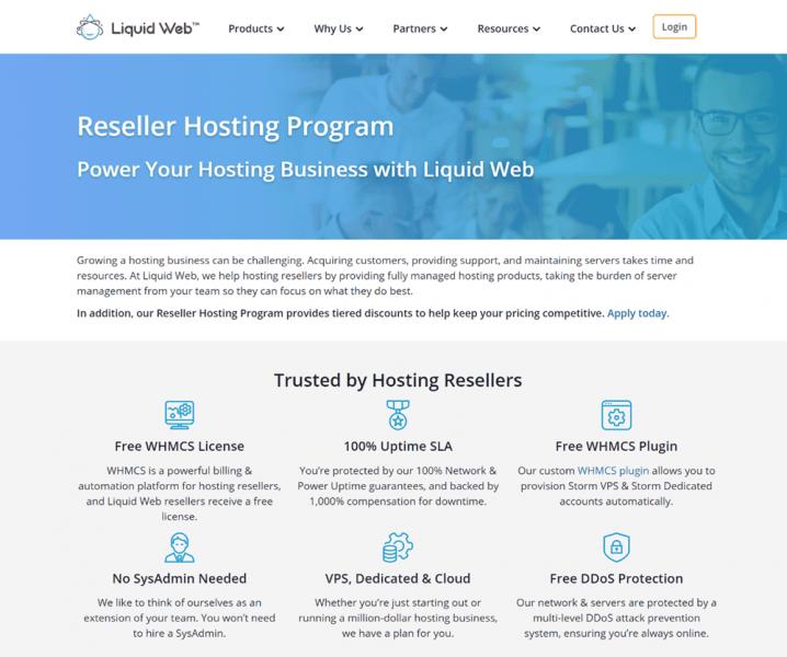hostgator reseller hosting alternative liquid web