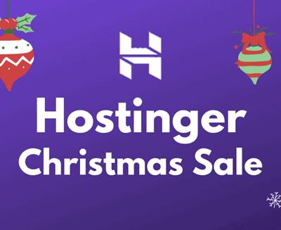 hostinger christmas sale