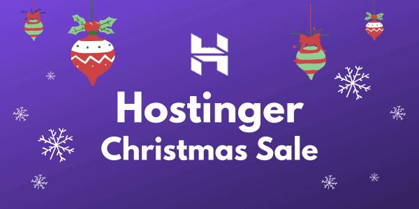 Hostinger Christmas Sale 2021 ⇒ Claim 90% Discount + FREE Domain