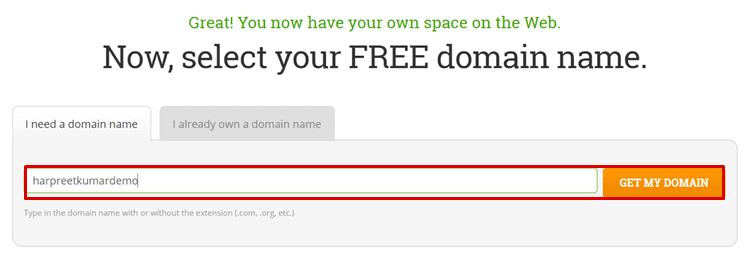 hostpapa australia free domain