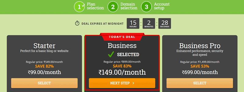 hostpapa india business plan