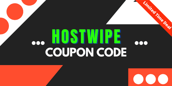 Hostwipe Coupon Code + Domain Offers [April 2021] 🔥 Exclusive 35% Discount