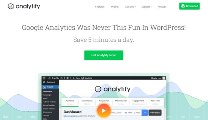 monsterinsights alternative analytify