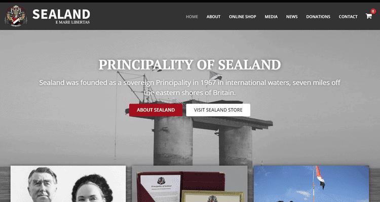 sealand gov