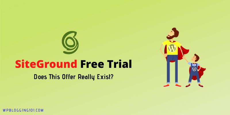 siteground free trial