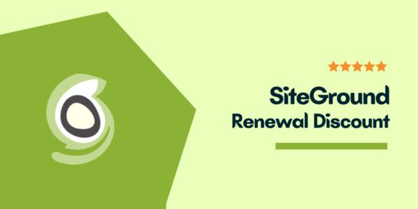 SiteGround Renewal Discount Coupon → (Secret Revealed) Renewal Price 67% OFF
