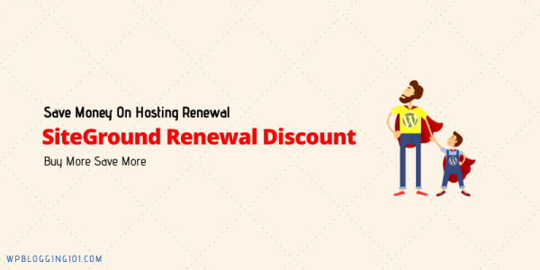 SiteGround Renewal Discount Code For Hosting Plans 2021