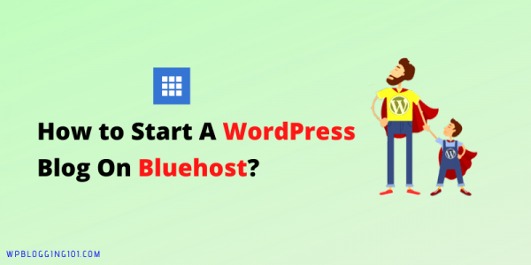 How To Start A WordPress Blog On Bluehost Hosting 2020? Step By Step Guide