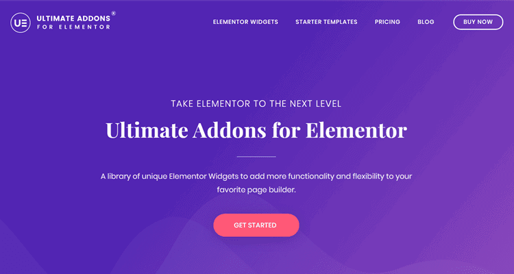 ultimate addons for elementor