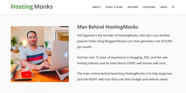 Hosting Monks