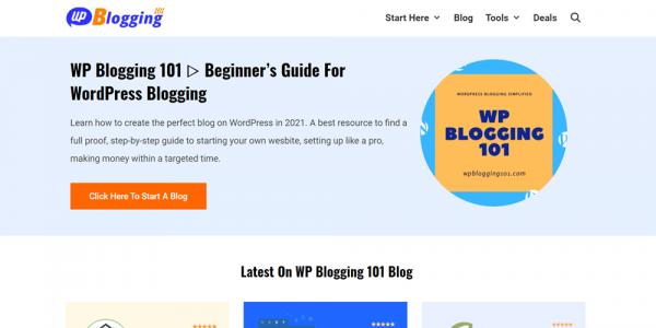 WP Blogging 101