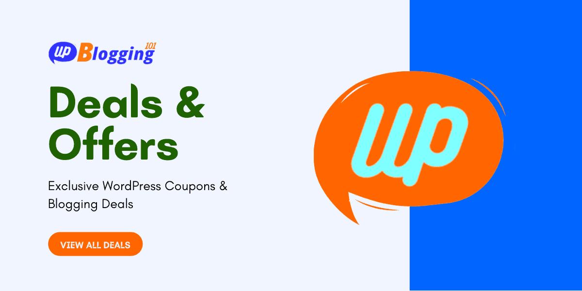 wp blogging 101 deals