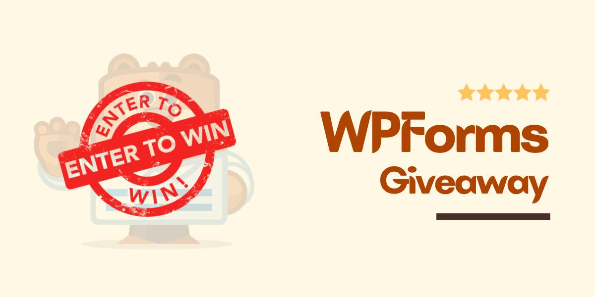 wpforms giveaway