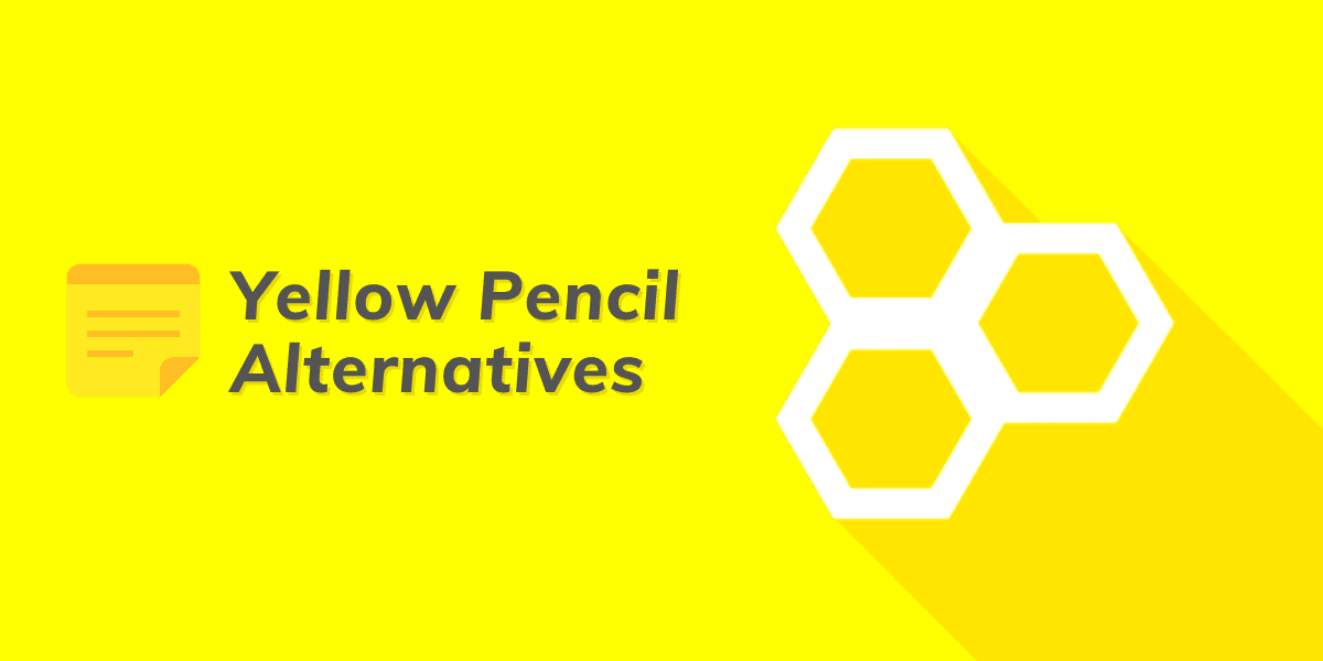 yellow pencil alternatives